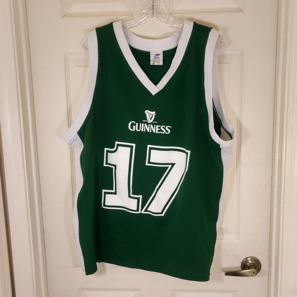 16ac44ad0 GUINNESS Other - GUINNESS~BASKETBALL JERSEY~MEN S ...